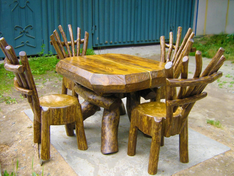 Сделай сам своими руками садовая мебель из